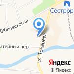 Пятьница на карте Санкт-Петербурга