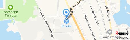 Курорт на карте Санкт-Петербурга
