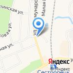Магазин хозтоваров на карте Санкт-Петербурга