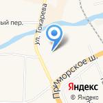 Средняя общеобразовательная школа №435 на карте Санкт-Петербурга