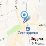 Мое солнышко на карте Санкт-Петербурга