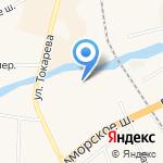 Магазин мяса и мясопродуктов на карте Санкт-Петербурга