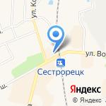 Магазин корейских салатов и мороженого на карте Санкт-Петербурга