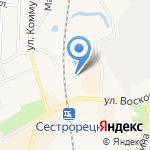 Водолей-2 на карте Санкт-Петербурга