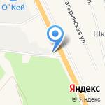 Сеть автомоек на карте Санкт-Петербурга