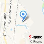 Стрелец на карте Санкт-Петербурга