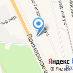 Салон по уходу за животными на карте Санкт-Петербурга