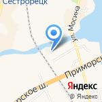 Курортлифт на карте Санкт-Петербурга