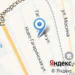 Средняя общеобразовательная школа №545 на карте Санкт-Петербурга