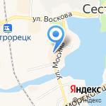 Свободная касса на карте Санкт-Петербурга