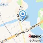 Мемориальная часовня Святого Николая Чудотворца на карте Санкт-Петербурга