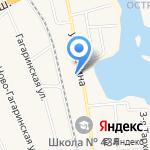 НУР на карте Санкт-Петербурга