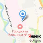 Городская больница №40 на карте Санкт-Петербурга