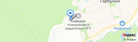 Общежитие на карте Горбунков