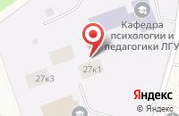 Схема проезда до компании Общежитие в Горбунках