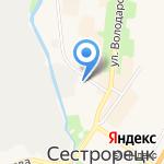 ARTCLASS на карте Санкт-Петербурга