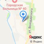 Тенториум на карте Санкт-Петербурга