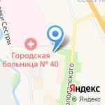 Цех на карте Санкт-Петербурга