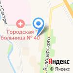 Поликлиника на карте Санкт-Петербурга