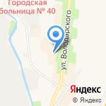 Магазин косметики из Белоруссии на карте Санкт-Петербурга