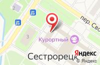 Схема проезда до компании Администрация Курортного района в Санкт-Петербурге