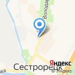 Пожарно-спасательный отряд противопожарной службы г. Санкт-Петербурга на карте Санкт-Петербурга