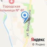 Средняя общеобразовательная школа №541 на карте Санкт-Петербурга