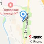 Курортная на карте Санкт-Петербурга