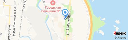 Кантри на карте Санкт-Петербурга