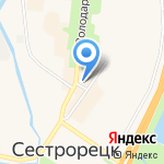 Отдел МВД Курортного района на карте Санкт-Петербурга