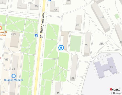 Управляющая компания «СЕВЕРО-ЗАПАД-ЮГ СЕРВИС» на карте Сестрорецка