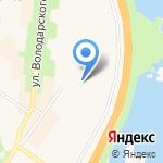 Средняя общеобразовательная школа №324 на карте Санкт-Петербурга