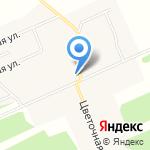 Русь-СВ на карте Санкт-Петербурга