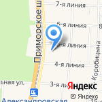 Церковь Рождества Пресвятой Богородицы на карте Санкт-Петербурга
