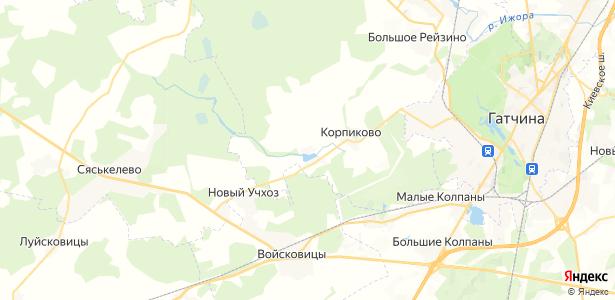 Черново на карте