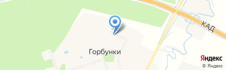 Центр детского творчества на карте Горбунков