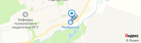 Пятёрочка на карте Горбунков
