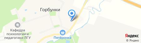 Горбунковская детская школа искусств на карте Горбунков