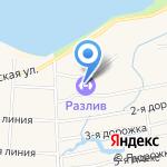 Школа тенниса Давлетшина Вадима Вадимовича на карте Санкт-Петербурга