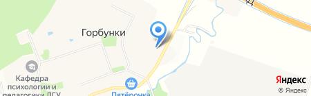 Северо-Западный банк Сбербанка России на карте Горбунков