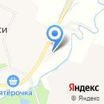 Северная на карте Санкт-Петербурга