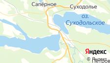 Гостиницы города Лосево на карте