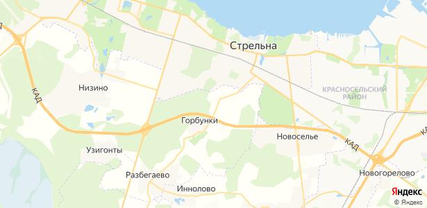 Новополье на карте