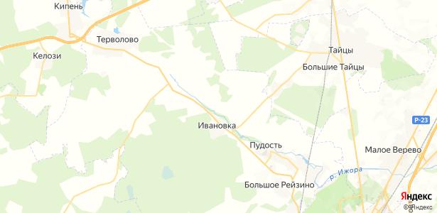 Алапурская на карте