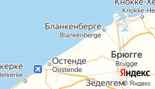 Отели города Де-Хаан на карте
