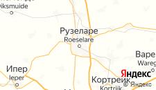 Отели города Руселаре на карте