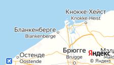 Отели города Бланкенберге на карте