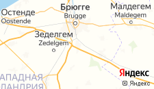 Отели города Осткамп на карте