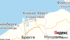 Отели города Кнокке-Хейст на карте