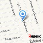 Вектор пространства на карте Санкт-Петербурга